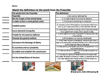 Match the Preamble