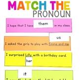 Match the Pronoun   Pronouns Center