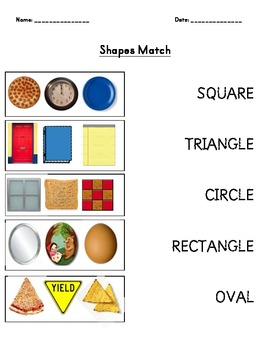 Match the Shapes!