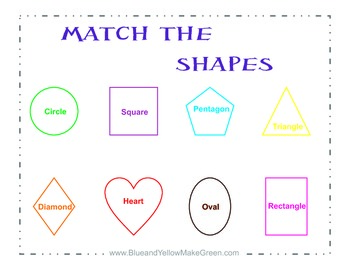 Match the Shapes Game
