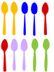 Phonology (Articulation) SP cluster/Oral Language-Match the Spoon Game