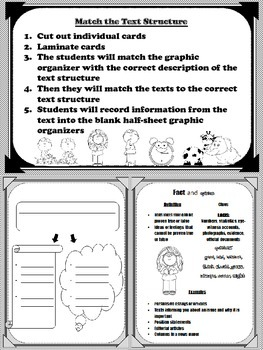 Match the Text Structure