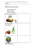 Match the Theme to the Fable -- 2nd Grade Reading ELA