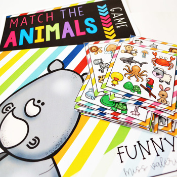 Match the Animals - Game