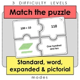 Match the puzzle - Standard, word, expanded and pictorial