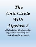 Match trig equations using unit circle  (advanced)