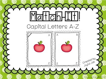 MatchIt!CapitalLetters.JoyfulJob