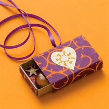 Matchbox Necklace: Parent Gift for Christmas, Valentine's Day, Mother's Day