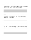 Matched (Ally Condie) Short Response Questions Chapters 1-6