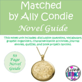 Matched by Ally Condie 59 page Novel Guide