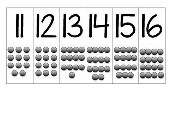 Matching 0-20 Math Assessment