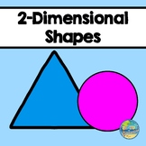 Matching 2-Dimensional Shapes  File Folder Game