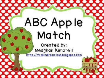Matching ABC Apples