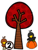 Matching Acorns to the Tree Number Sense 1-10 Activity