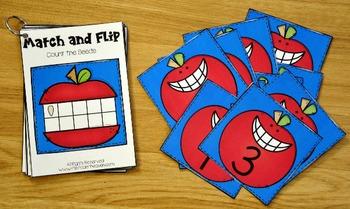 Matching Activities:  Apple Match and Flip Books