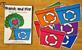 Matching Activities:  April Match and Flip Books