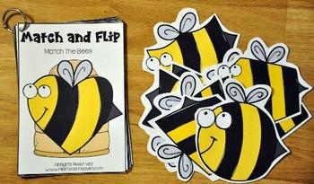 Matching Activities:  April Match and Flip Books