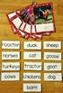 Matching Activities:  Farm Match and Flip Books and Matching Mats