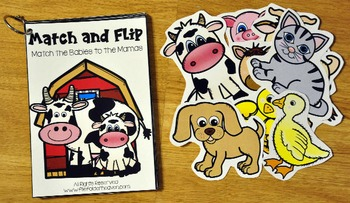 Matching Activities:  Farm Themed Match and Flip Books