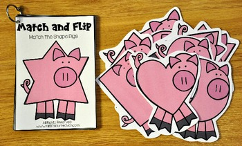 Matching Activities:  Farm Themed Match and Flip Books II