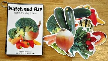 Matching Activities:  Food Groups Match and Flip Activities