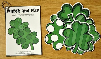 Matching Activities:  March Match and Flip Books
