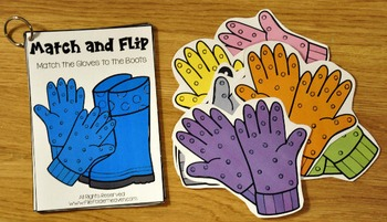 Matching Activities:  May Match and Flip Books