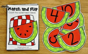 Matching Activities: Picnic Match and Books 1