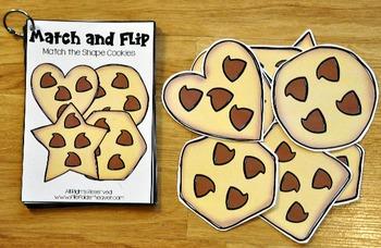 Matching Activities:  Picnic Match and Flip Books