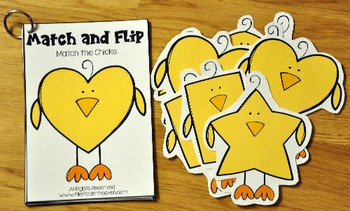 Matching Activities:  Spring Match and Flip Books