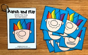 Matching Activities:  Troll Match and Flip Books
