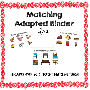 Matching Adapted Binder (Level 1)