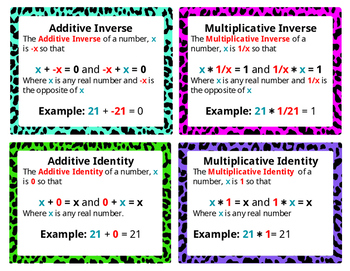Matching Algebraic Properties