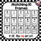 Matching Alphabet and Ten Frames Number Line-Half-size!