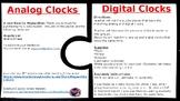 Matching Analog and Digital Clocks