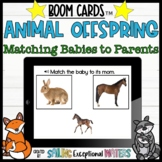 Baby Animal Match to Parent Boom Cards™