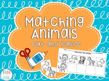Cut and Paste Matching Animals