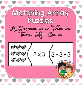 Matching Array Puzzles - Valentine Edition