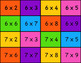 Matching Arrays and Multiplication Facts