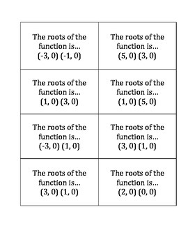 Matching Attributes of Quadratics