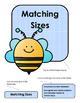 File Folder Game--Matching Bees (Sizes)