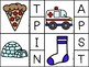 Matching Beginning Letter Sound Clip Cards (Jolly Phonics Book 1)