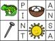 Matching Beginning Letter Sound Clip Cards - BUNDLE (Jolly Phonics Books 1-7)
