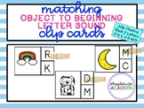 Matching Beginning Letter Sound Clip Cards (Jolly Phonics Book 2)