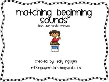 Matching Beginning Sounds