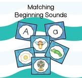Matching Beginning Sounds Card Game