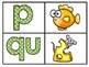 Matching Beginning Sounds with Pictures from A-Z (Spanish)