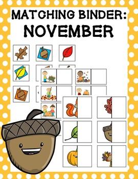 Matching Binder: November