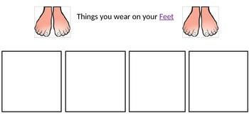 Matching Body parts and Accessories