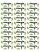 Matching Book Labels (for puffy, polka dotted and rounded
